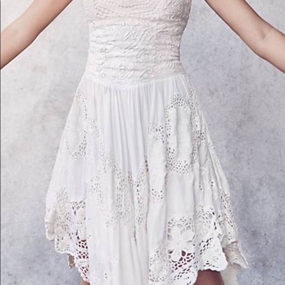 098ec973bbd8 Free People Dresses | Love To Love You Cutwork Dress | Poshmark